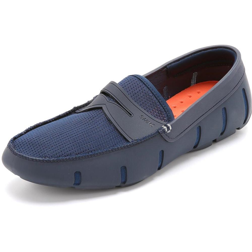 スウィムス メンズ シューズ・靴 ローファー【Penny Loafers】Navy