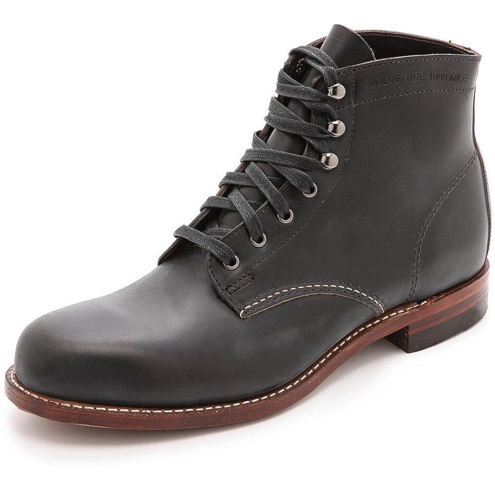 ウルバリン1000マイル メンズ シューズ・靴 ブーツ【Wolverine 1000 Mile Boots】Black