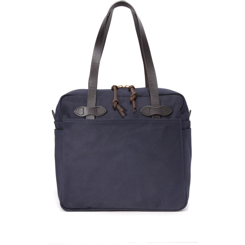 フィルソン メンズ バッグ トートバッグ【Tote Bag with Zipper】Navy
