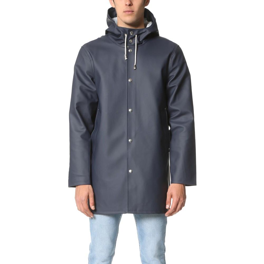 ストゥッテルハイム メンズ アウター コート【Stockholm Raincoat】Navy