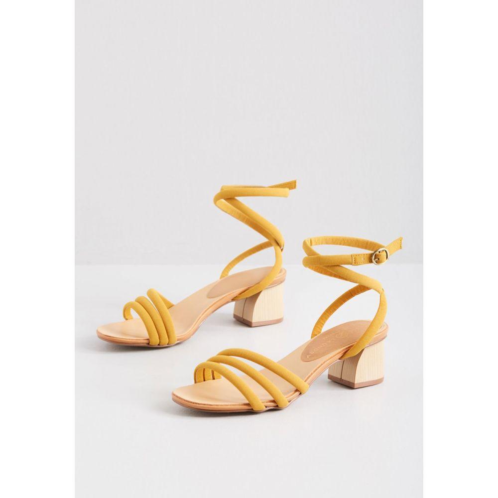 レディース ヒール シューズ・靴【Lifted Spirit Strappy Heel】yellow