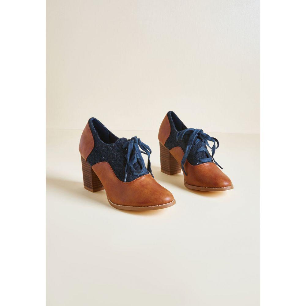 リストリクティッド Restricted レディース ローファー・オックスフォード シューズ・靴【Ever the Academic Oxford Heel】cognac