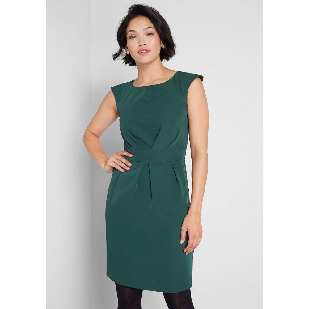 レディース ワンピース ワンピース・ドレス【Keep It Classy Sheath Dress】green