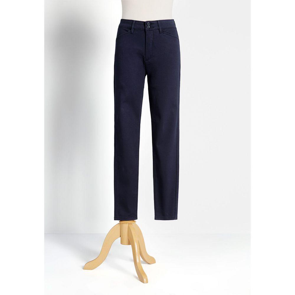 モドクロス ModCloth レディース ボトムス・パンツ チノパン【the richmond chino pants】navy