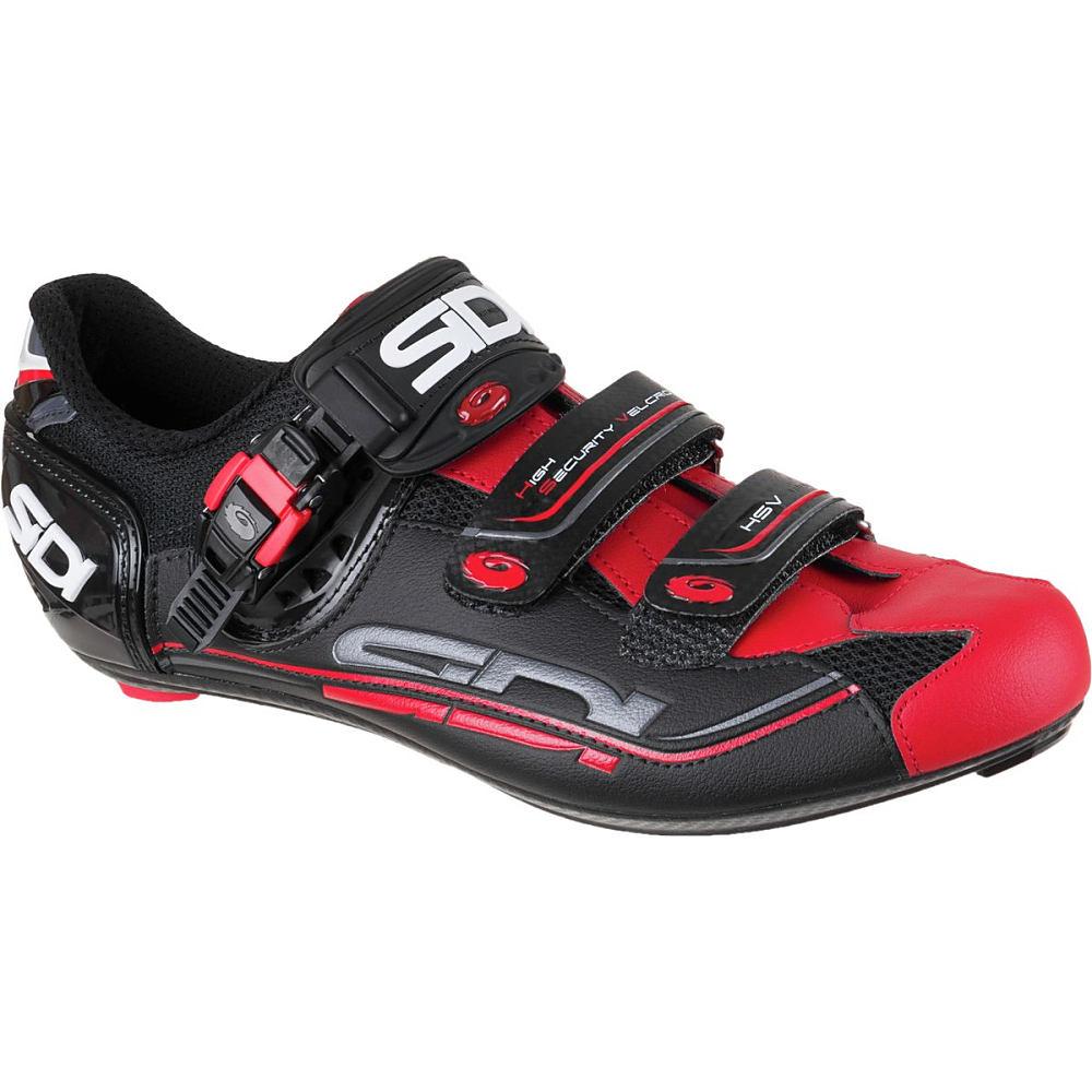 シディー Sidi メンズ サイクリング シューズ・靴【Genius Fit Carbon Shoe】Black/Red