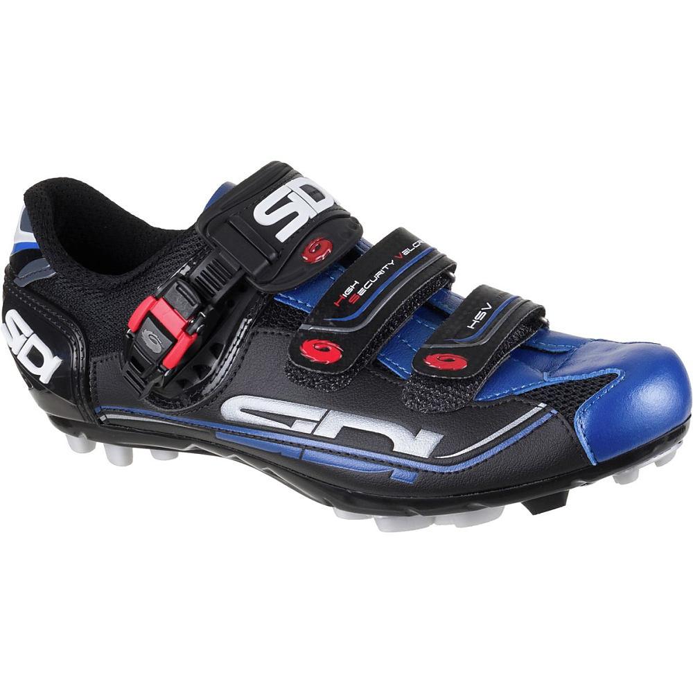 シディー Sidi メンズ サイクリング シューズ・靴【Dominator Fit Shoes】Black/Black/Blue