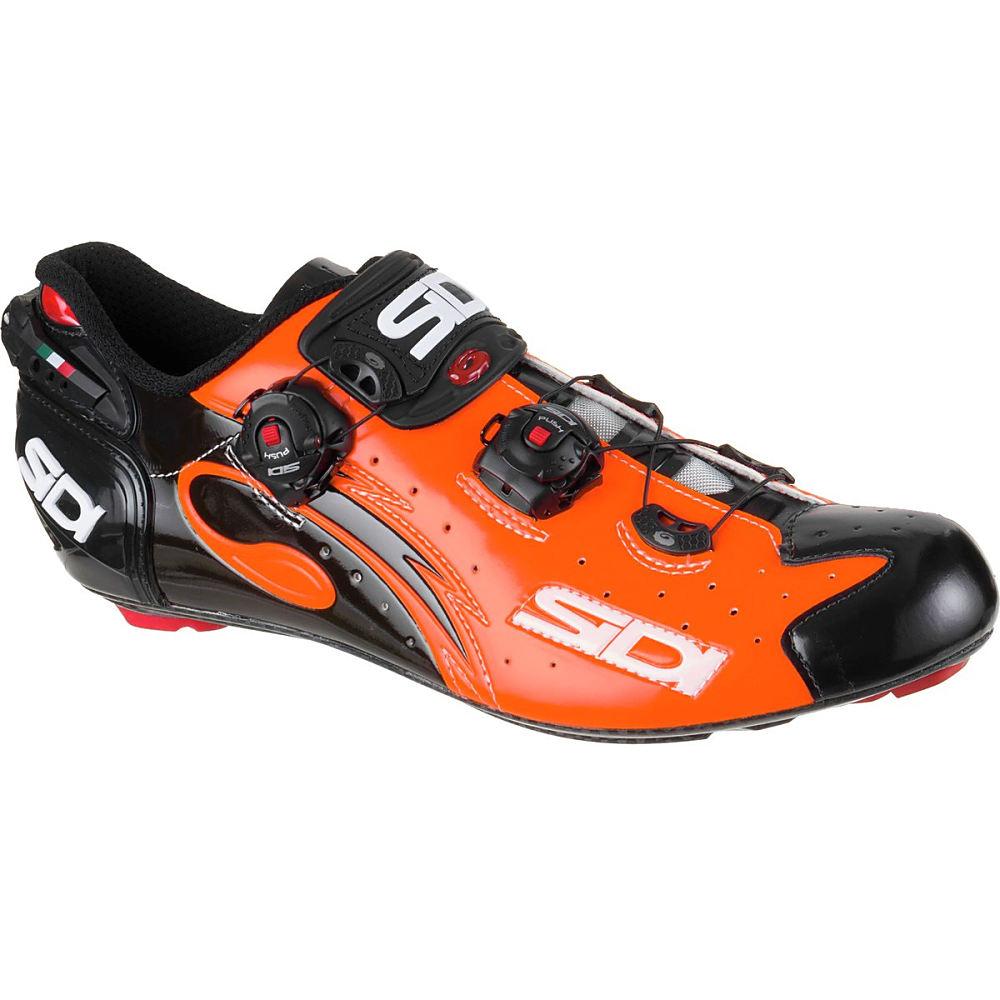 シディー Sidi メンズ サイクリング シューズ・靴【Wire Vent Carbon Shoe】Orange Black
