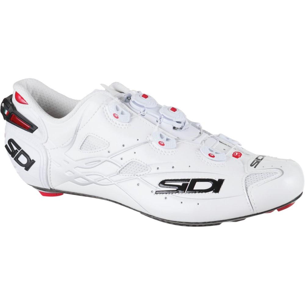 シディー Sidi メンズ サイクリング シューズ・靴【Shot Vent Carbon Cycling Shoe】White