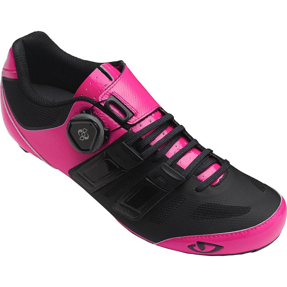 ジロ Giro レディース サイクリング シューズ・靴【Raes Techlace Shoe】Bright Pink/Black