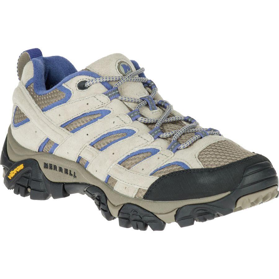 メレル Merrell レディース ハイキング シューズ・靴【Moab 2 Vent Hiking Shoe】Aluminum/Marlin
