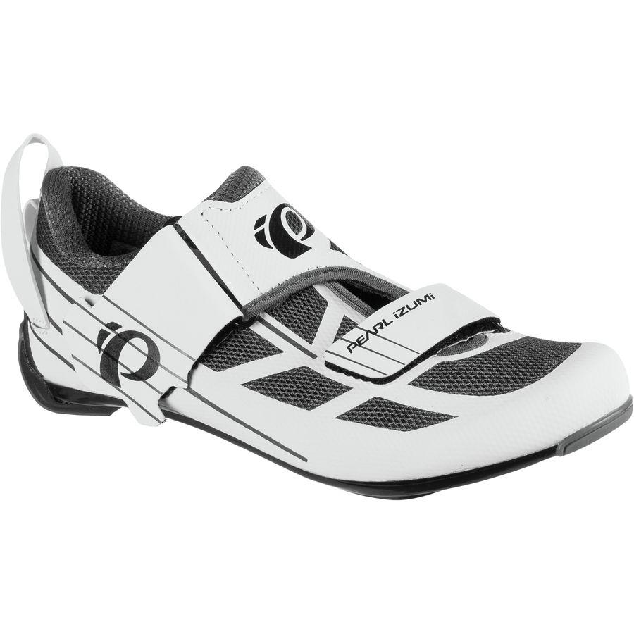 パールイズミ Pearl Izumi レディース シューズ・靴 スニーカー【Tri Fly Select V6 Shoe】White/Shadow Grey