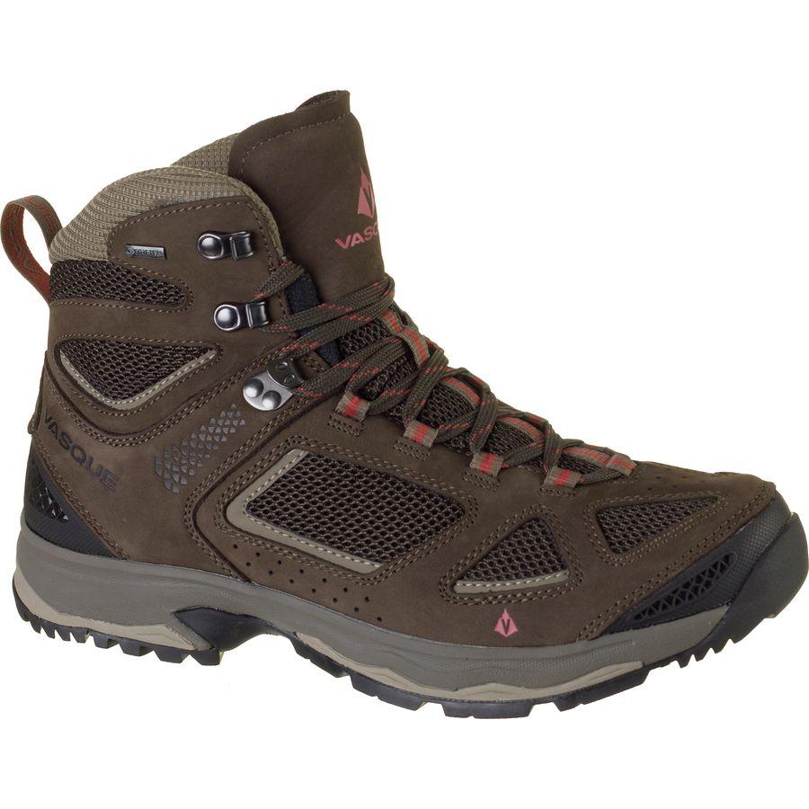 バスク Vasque メンズ ハイキング シューズ・靴【Breeze III GTX Hiking Boot】Brown Olive/Bungee Cord