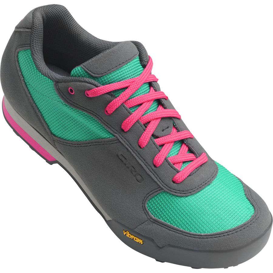 ジロ Giro レディース サイクリング シューズ・靴【Petra VR Shoes】Turquoise/Bright Pink