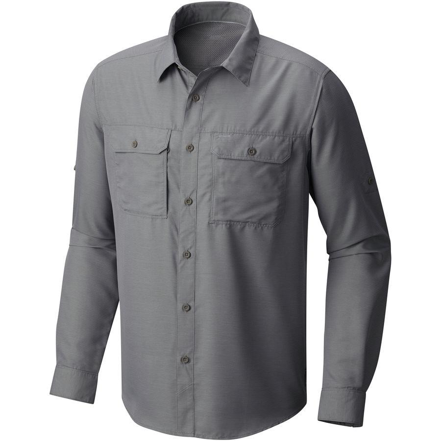マウンテンハードウェア Mountain Hardwear メンズ トップス カジュアルシャツ【Canyon Shirt】Manta Grey