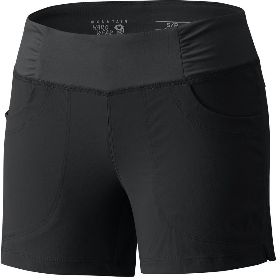 マウンテンハードウェア Mountain Hardwear レディース ボトムス ショートパンツ【Dynama 6in Short】Black