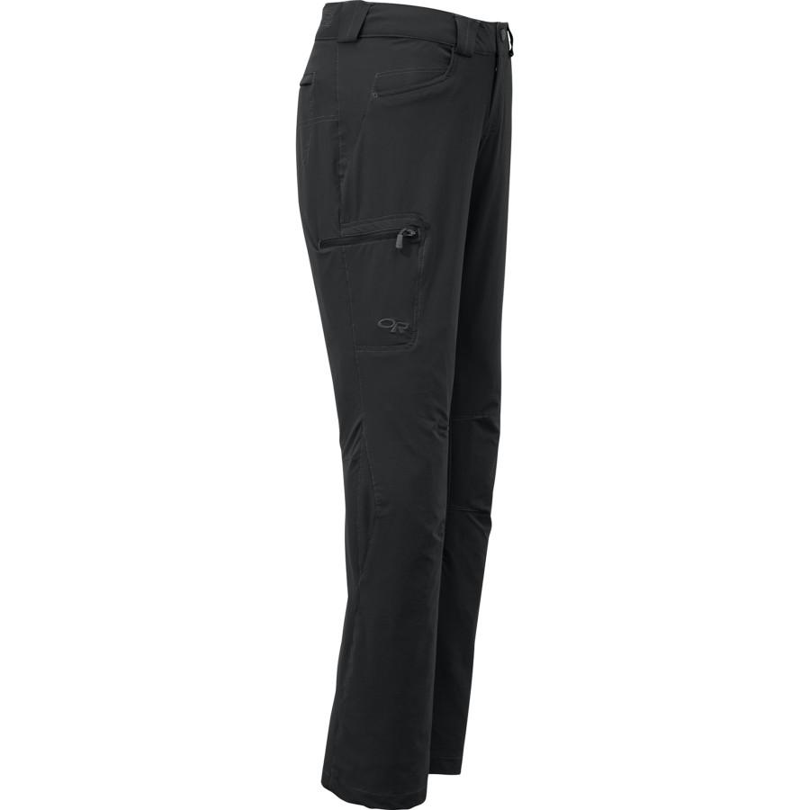 アウトドアリサーチ Outdoor Research レディース 登山 ウェア【Voodoo Softshell Pant】Black