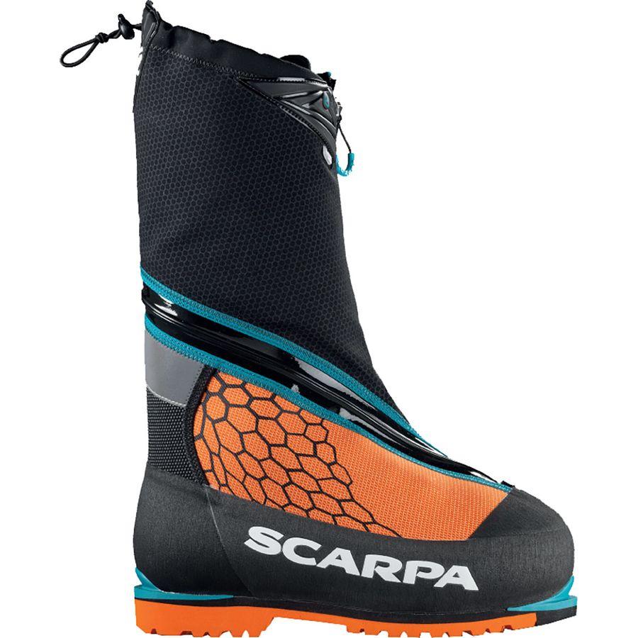 訳あり スカルパ Scarpa Mountaineering メンズ 登山 シューズ・靴 Scarpa【Phantom 8000 Mountaineering 8000 Boot】Black/Orange, サッカーショップ fcFA:3151f306 --- rukna.4px.tech