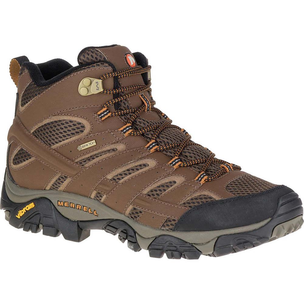 メレル Merrell メンズ ハイキング シューズ・靴【Moab 2 Mid GTX Hiking Boot】Earth