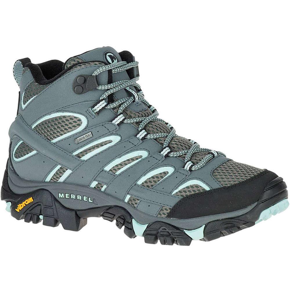 メレル Merrell レディース ハイキング シューズ・靴【Moab 2 Mid GTX Hiking Boot】Sedona Sage