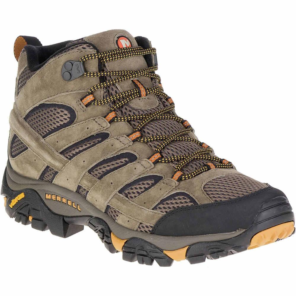 メレル Merrell メンズ ハイキング シューズ・靴【Moab 2 Mid Vent Hiking Boot】Walnut