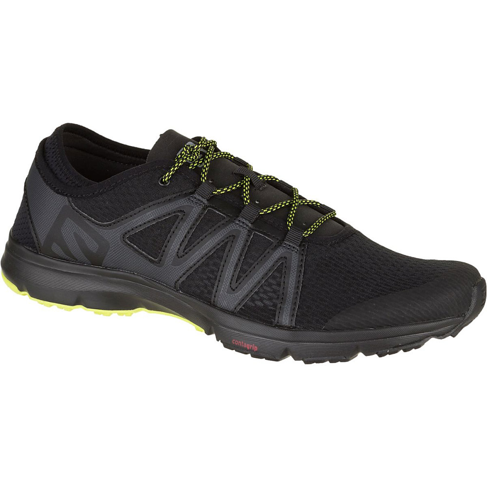 サロモン Salomon メンズ 水遊び シューズ・靴【Crossamphibian Swift Water Shoe】Black/Phantom/Sulphur Spring