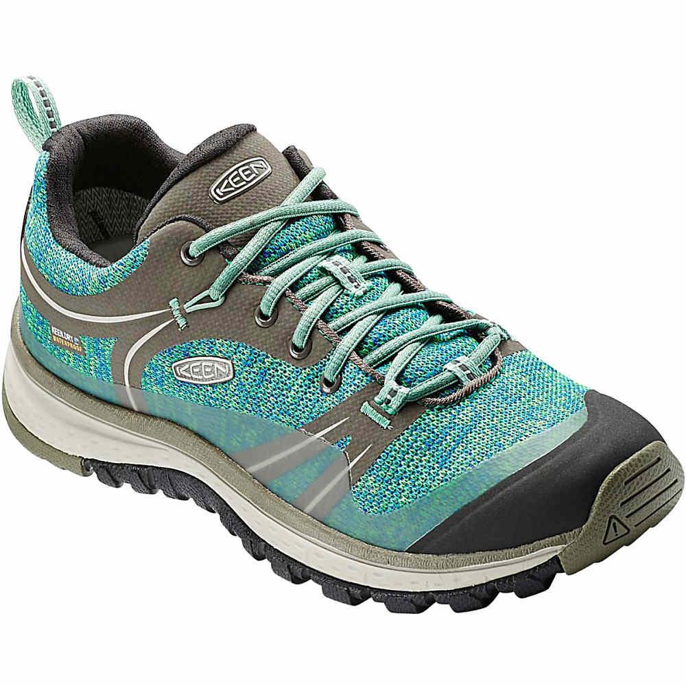 キーン KEEN レディース ハイキング シューズ・靴【Terradora Waterproof Hiking Shoe】Bungee Cord/Malachite