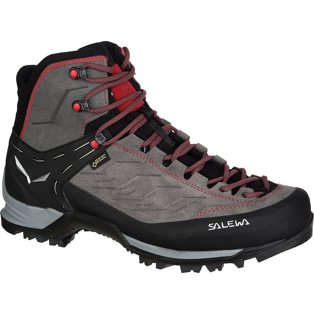 サレワ Salewa メンズ ハイキング シューズ・靴【Mountain Trainer Mid GTX Backpacking Boot】Charcoal/Papavero