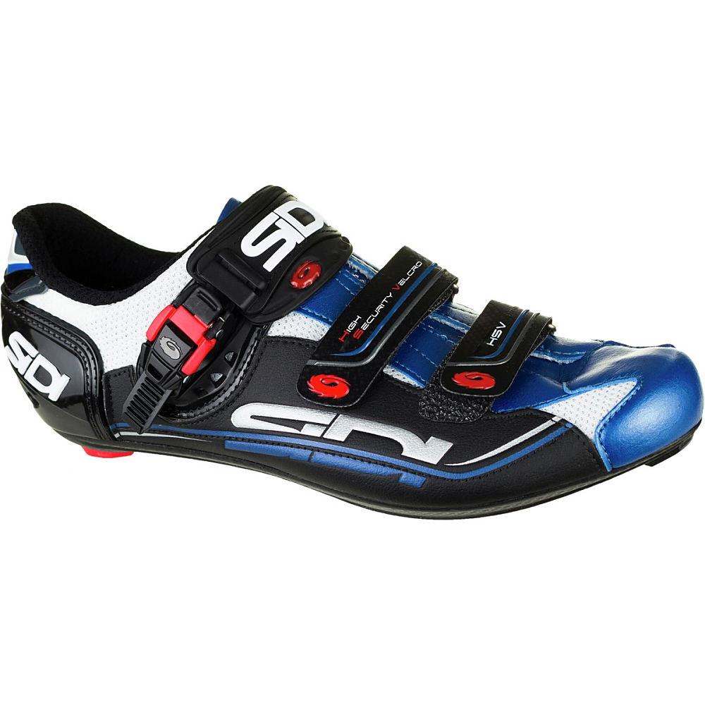 シディー Sidi メンズ サイクリング シューズ・靴【Genius Fit Carbon Shoe】Black/White/Blue