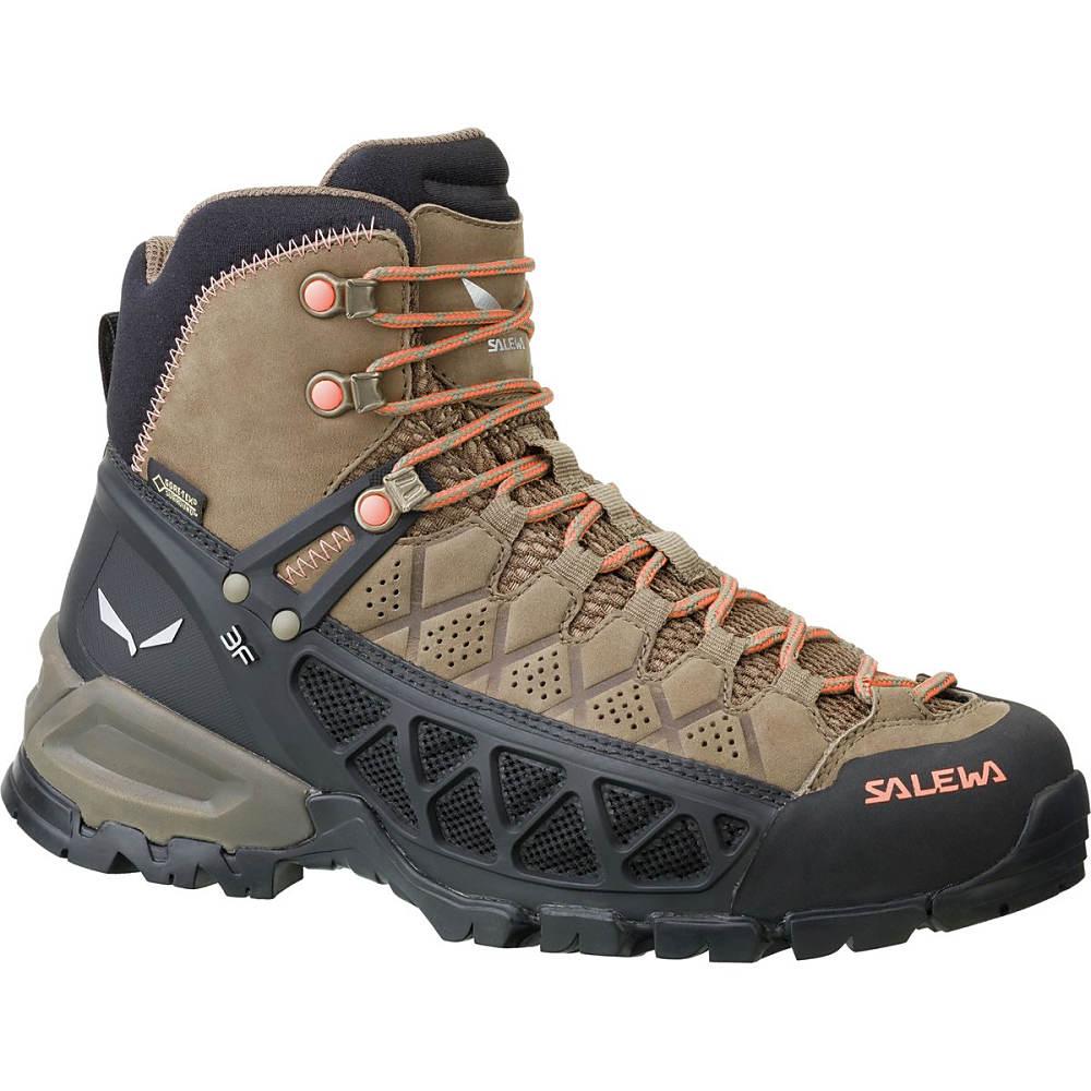 (お得な特別割引価格) サレワ Salewa レディース ハイキング サレワ シューズ・靴【Alp レディース Flow Mid Mid GTX Hiking Boot】Walnut/Peach Coral, ミノシ:19f51bbc --- canoncity.azurewebsites.net