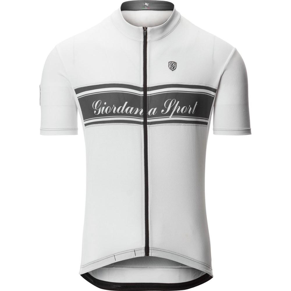 ジョルダーノ Giordana メンズ サイクリング ウェア【Sport Elite Jerseys】White/Black