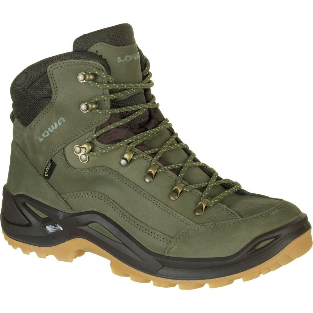 ロワ Lowa メンズ ハイキング シューズ・靴【Renegade GTX Mid Hiking Boots】Forest/Dark Brown