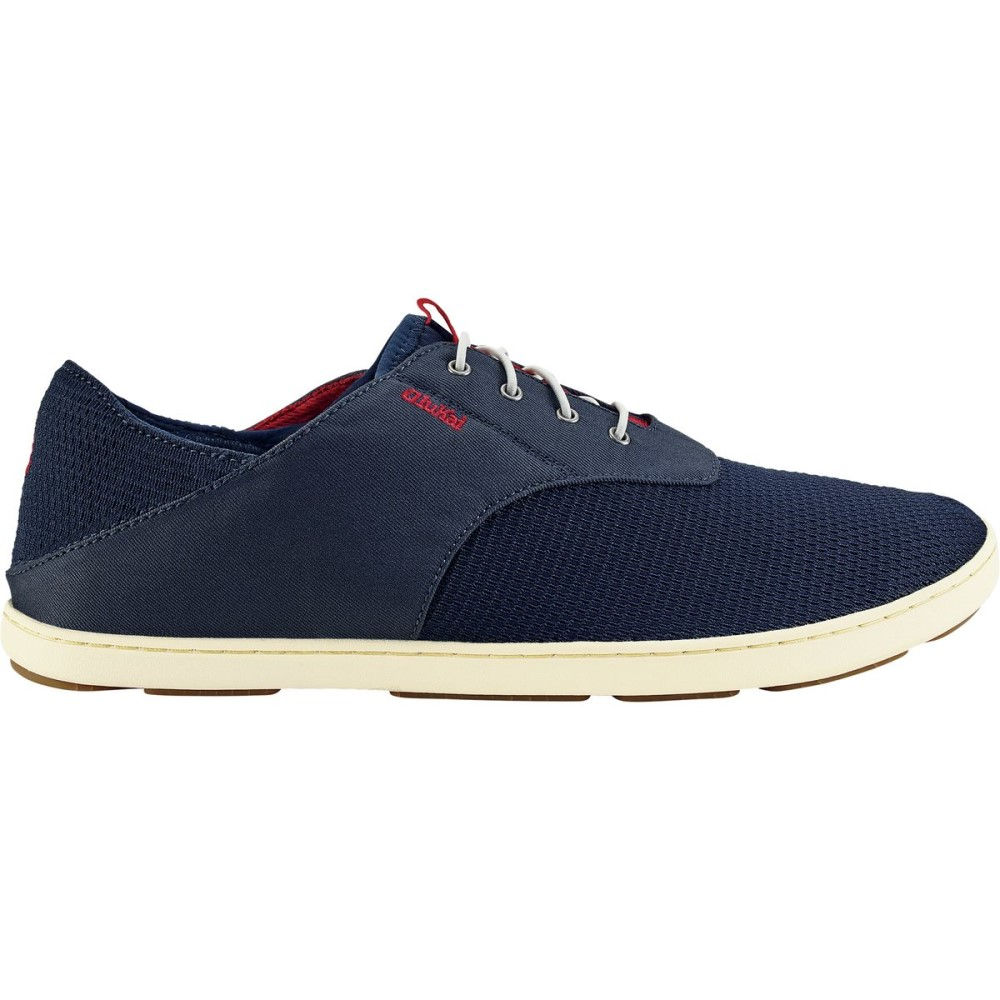 オルカイ Olukai メンズ シューズ・靴 スニーカー【Nohea Moku Shoes】Trench Blue/Deep Red