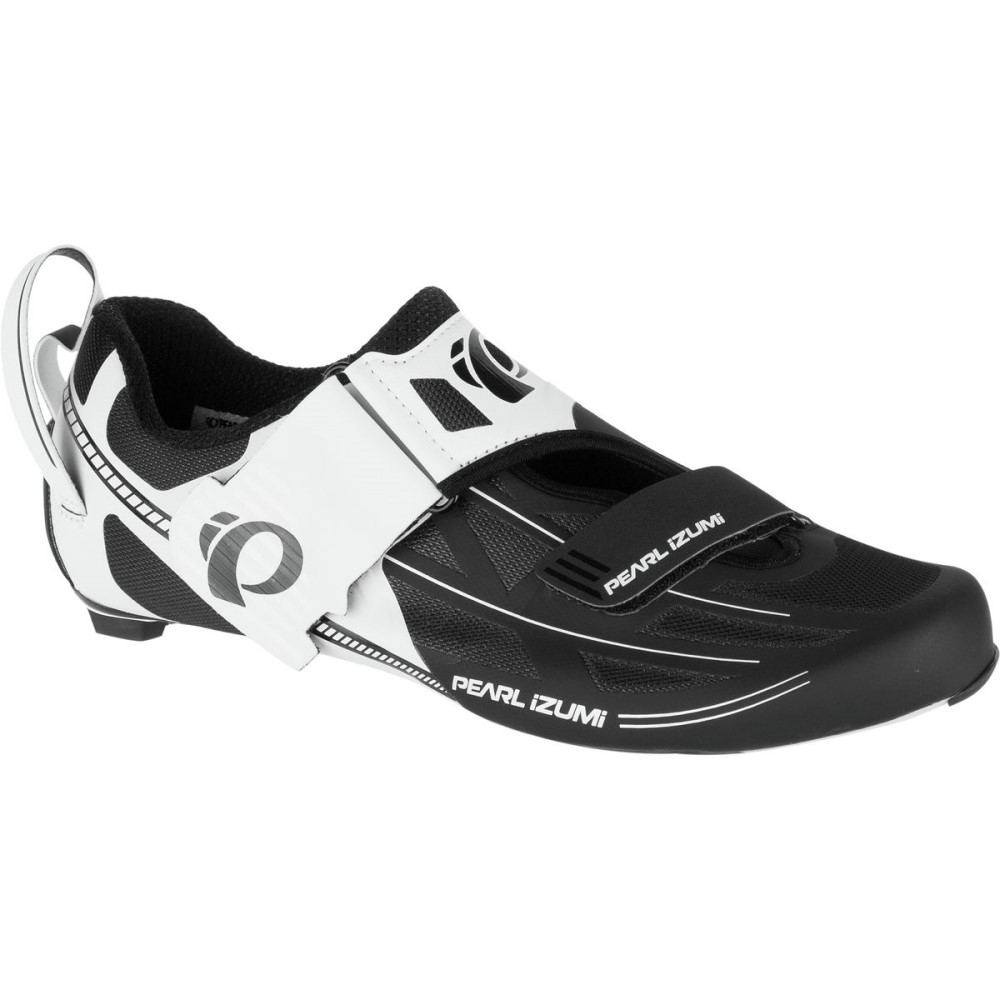 パールイズミ Pearl Izumi レディース トライアスロン シューズ・靴【Tri Fly Elite V6 Shoe】White/Silver
