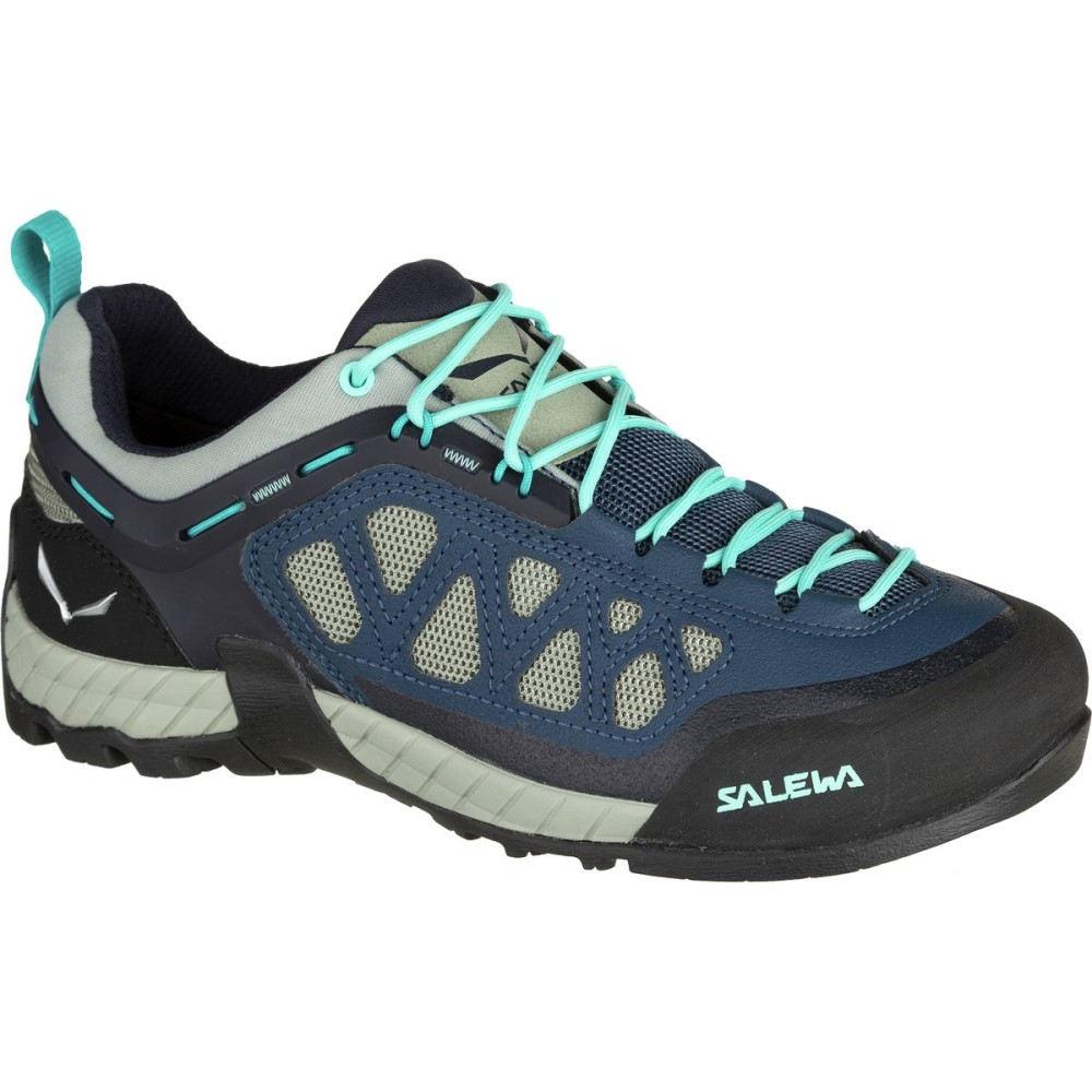 サレワ Salewa レディース ハイキング シューズ・靴【Firetail 3 Approach Shoe】Dark Denim/Aruba Blue