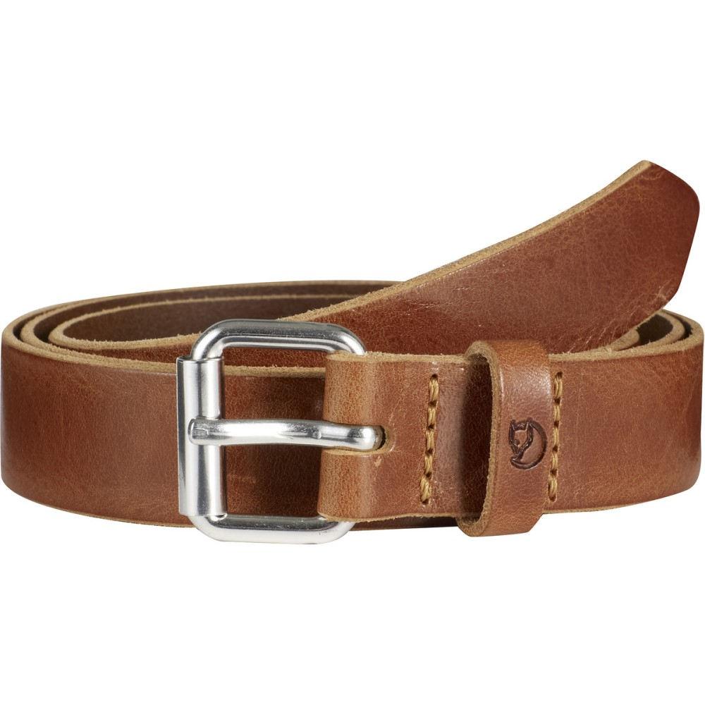 フェールラーベン Fjallraven メンズ アクセサリー ベルト【Singi Sarek 2.5cm Belt】Leather Cognac