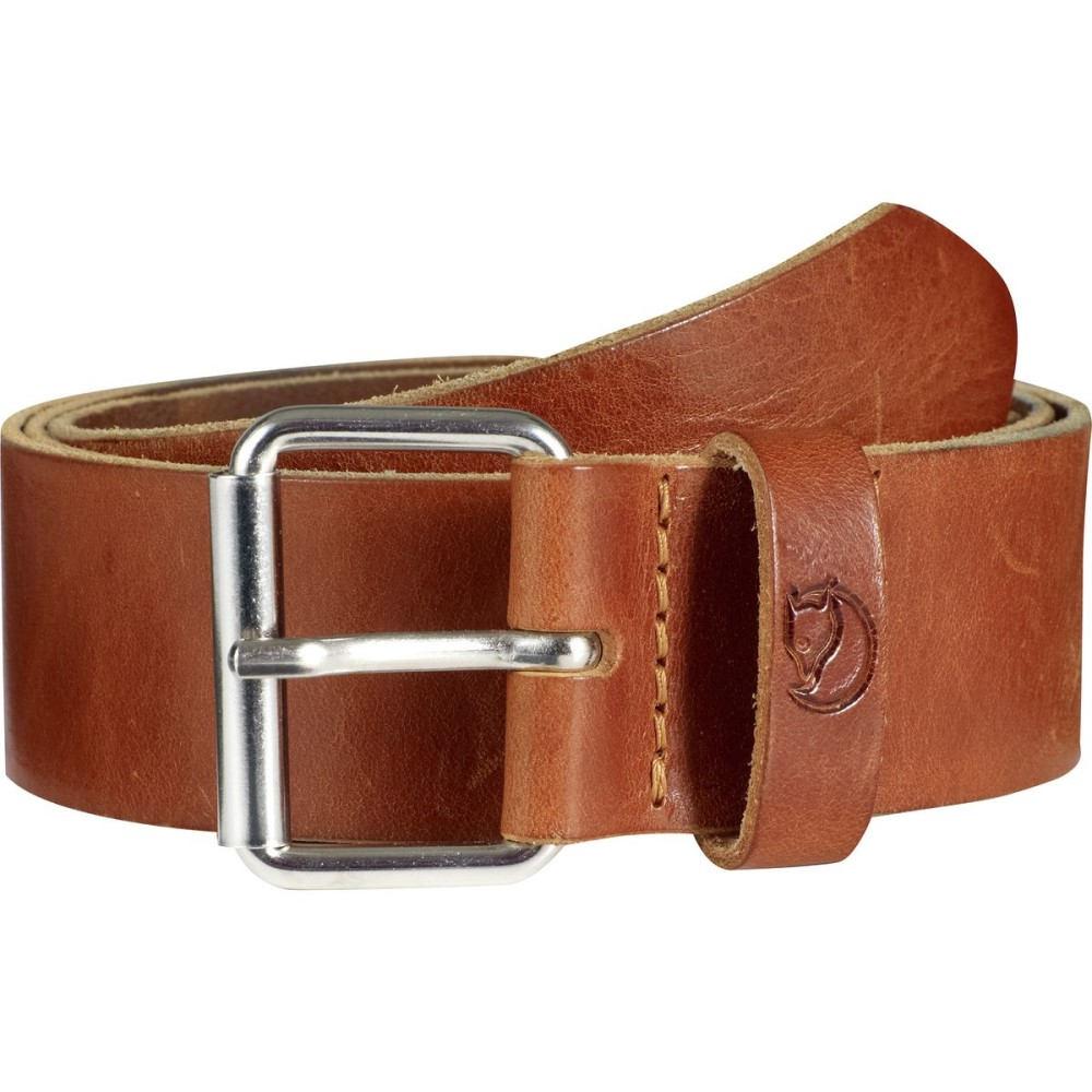 フェールラーベン Fjallraven メンズ アクセサリー ベルト【Singi 4cm Belt】Leather Cognac