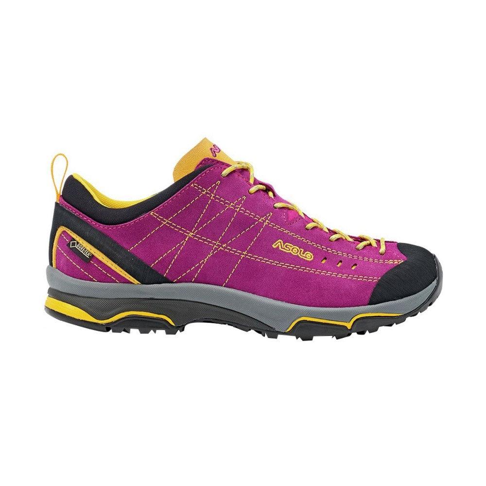 アゾロ Asolo レディース ハイキング シューズ・靴【Nucleon GV Hiking Shoe】Verbena/Yellow