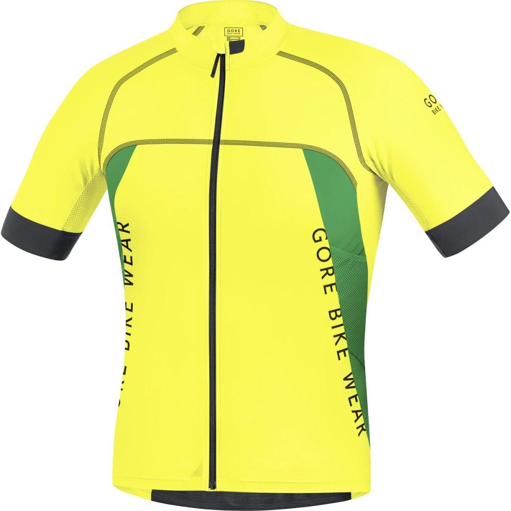 ゴアバイクウェア Gore Bike Wear メンズ サイクリング ウェア【Alp - X Pro Jerseys】Cadmium Yellow/Fresh Green
