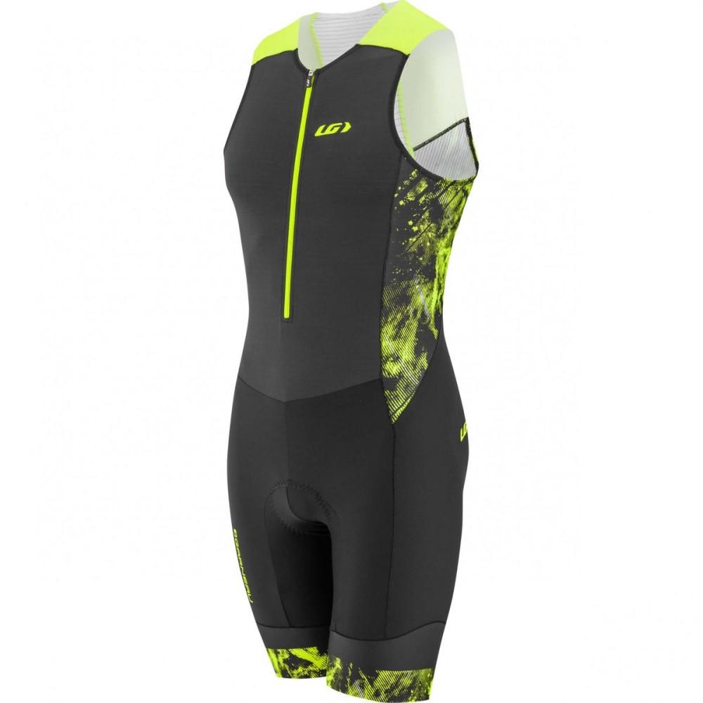 ルイスガーナー Louis Garneau メンズ トライアスロン ウェア【Pro Carbon Suits】Black/Yellow