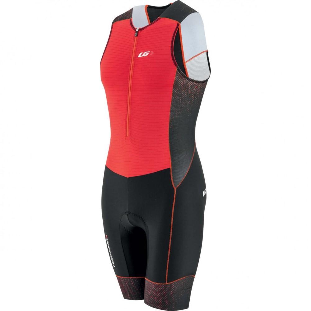 ルイスガーナー Louis Garneau メンズ トライアスロン ウェア【Pro Carbon Suits】Red/Black