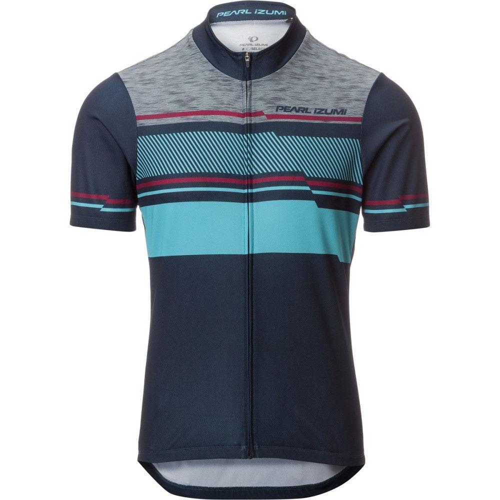 パールイズミ Pearl Izumi メンズ サイクリング ウェア【SELECT LTD Jersey - Short Sleeves】Drift Eclipse Blue