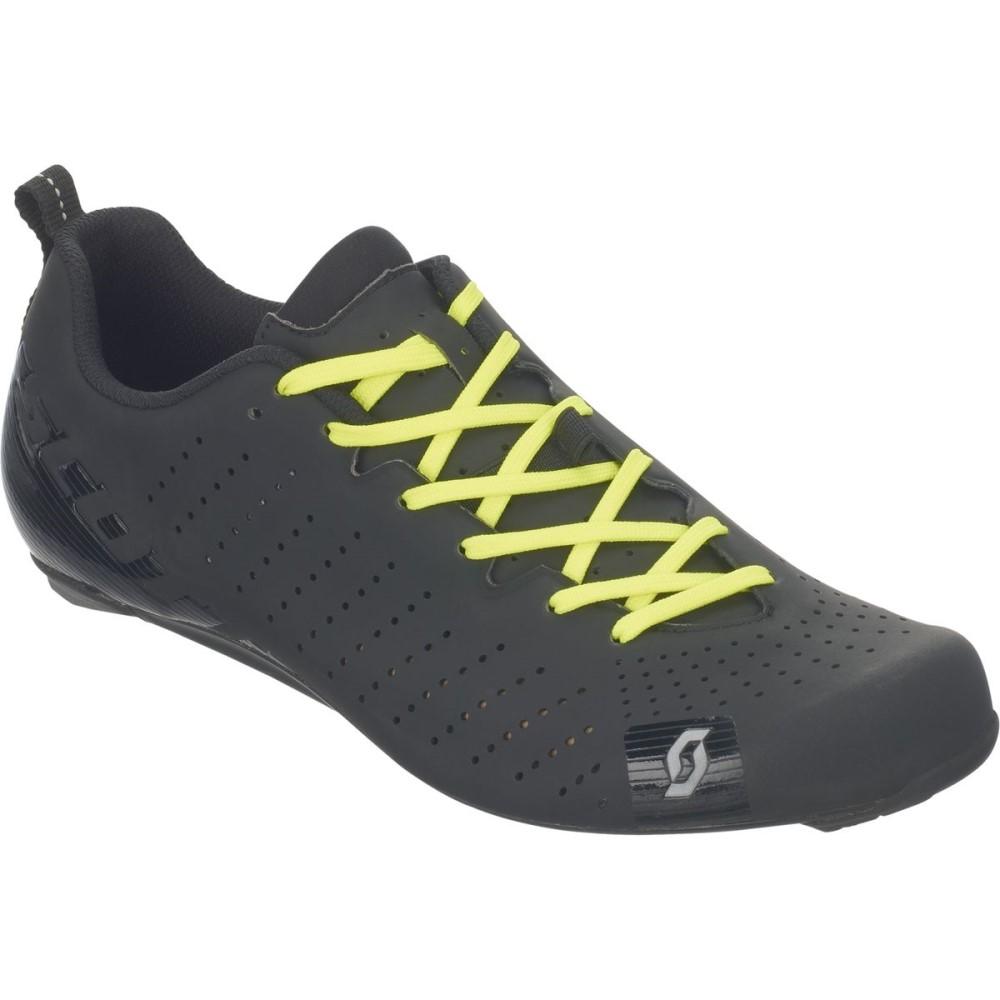 スコット Scott メンズ サイクリング シューズ・靴【Road RC Lace Shoes】Matt Black/Gloss Black