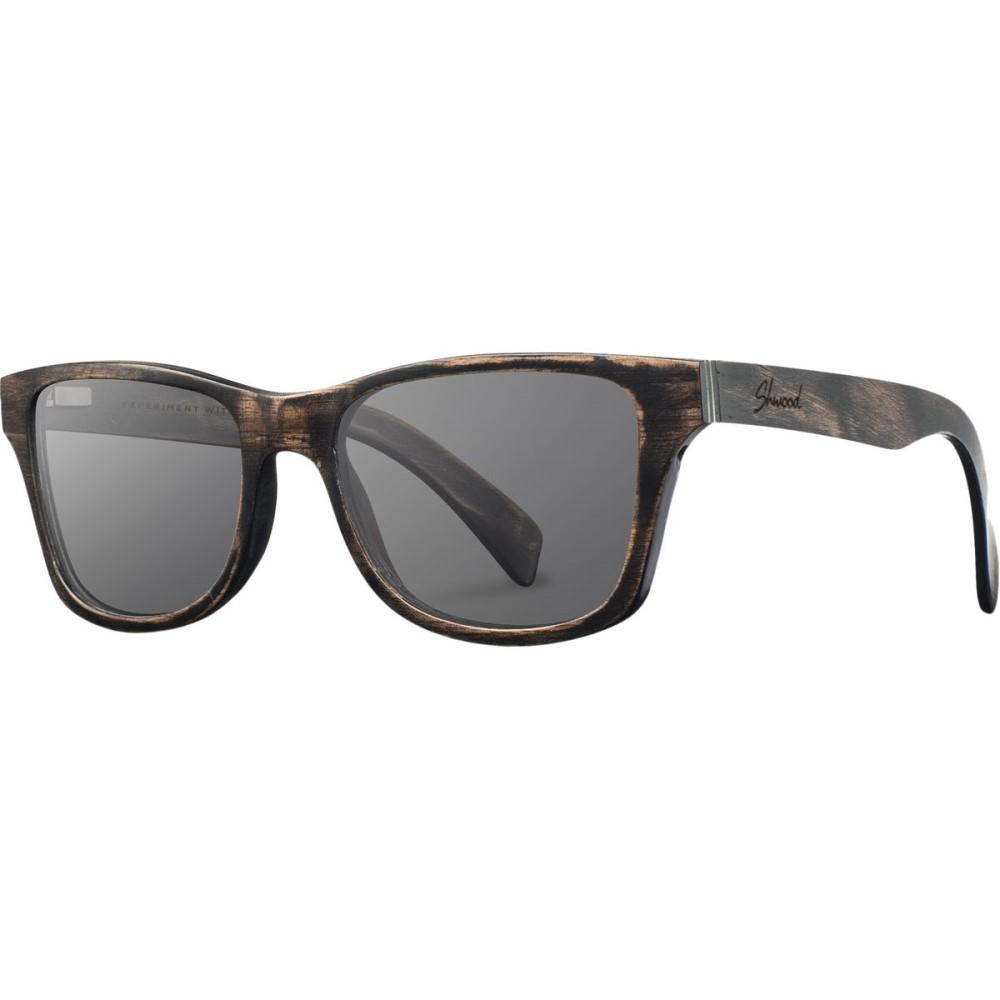 シュウッド Shwood レディース アクセサリー メガネ・サングラス【Canby Sunglasses - Polarized】Distressed Dark Walnut - Grey Polarized