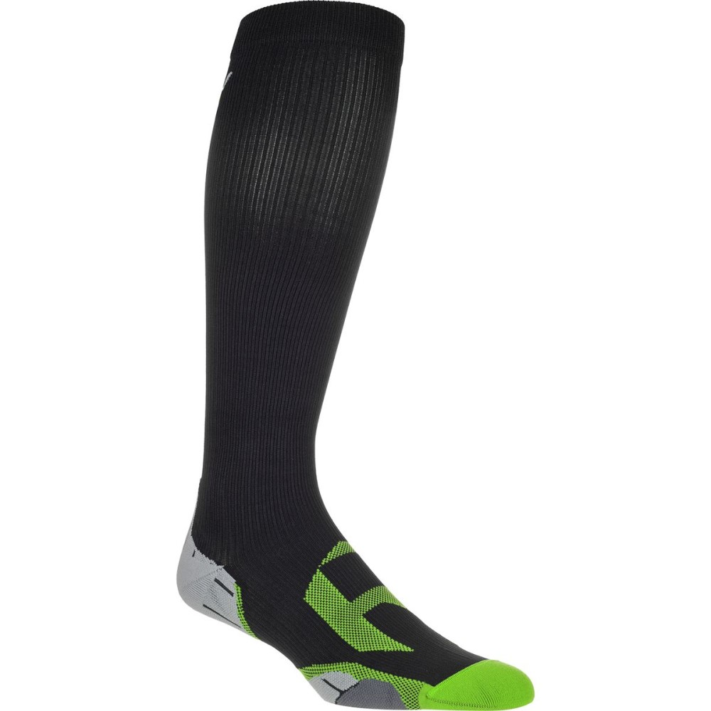 ツータイムズユー 2XU レディース サイクリング ソックス【Recover Compression Sock】Black/Grey