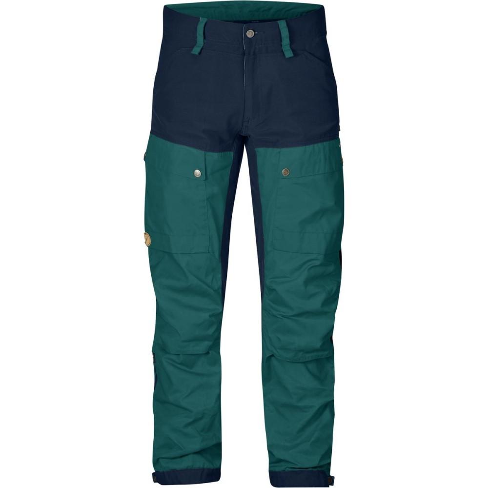 【メーカー直売】 フェールラーベン Fjallraven メンズ メンズ クライミング ウェア【Keb Trousers】Glacier Navy Green ウェア【Keb/Dark Navy, シウラムラ:ef48fb62 --- supercanaltv.zonalivresh.dominiotemporario.com
