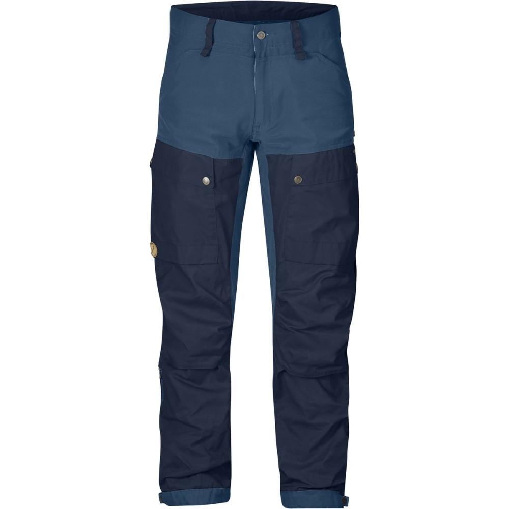 フェールラーベン Fjallraven メンズ クライミング ウェア【Keb Pant - Longs】Dark Navy/Uncle Blue