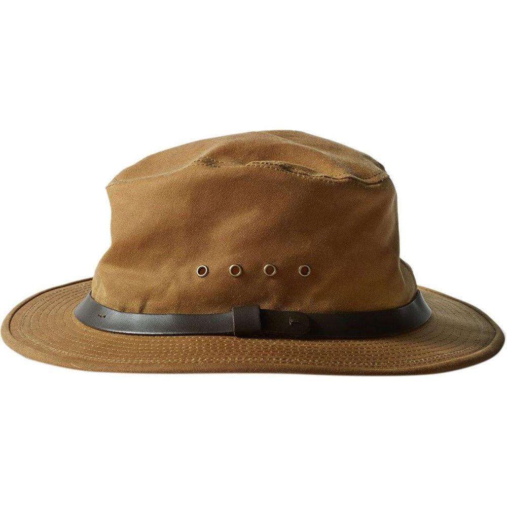 フィルソン Filson レディース 帽子 ハット【Tin Cloth Packer Hat】Dark Tan