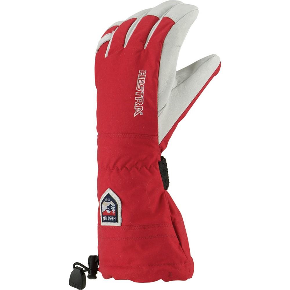 ヘスタ Hestra メンズ スキー グローブ【Heli Glove】Red