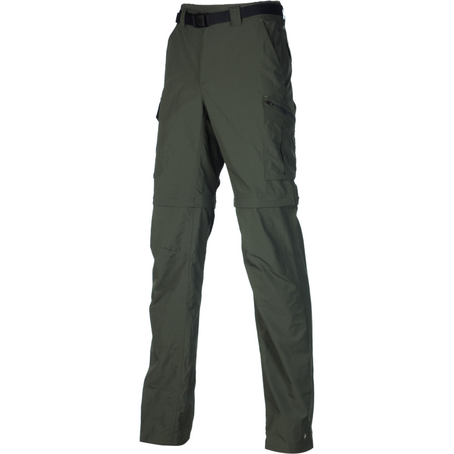コロンビア Columbia メンズ ボトムス カジュアルパンツ【Silver Ridge Convertible Pant】Gravel