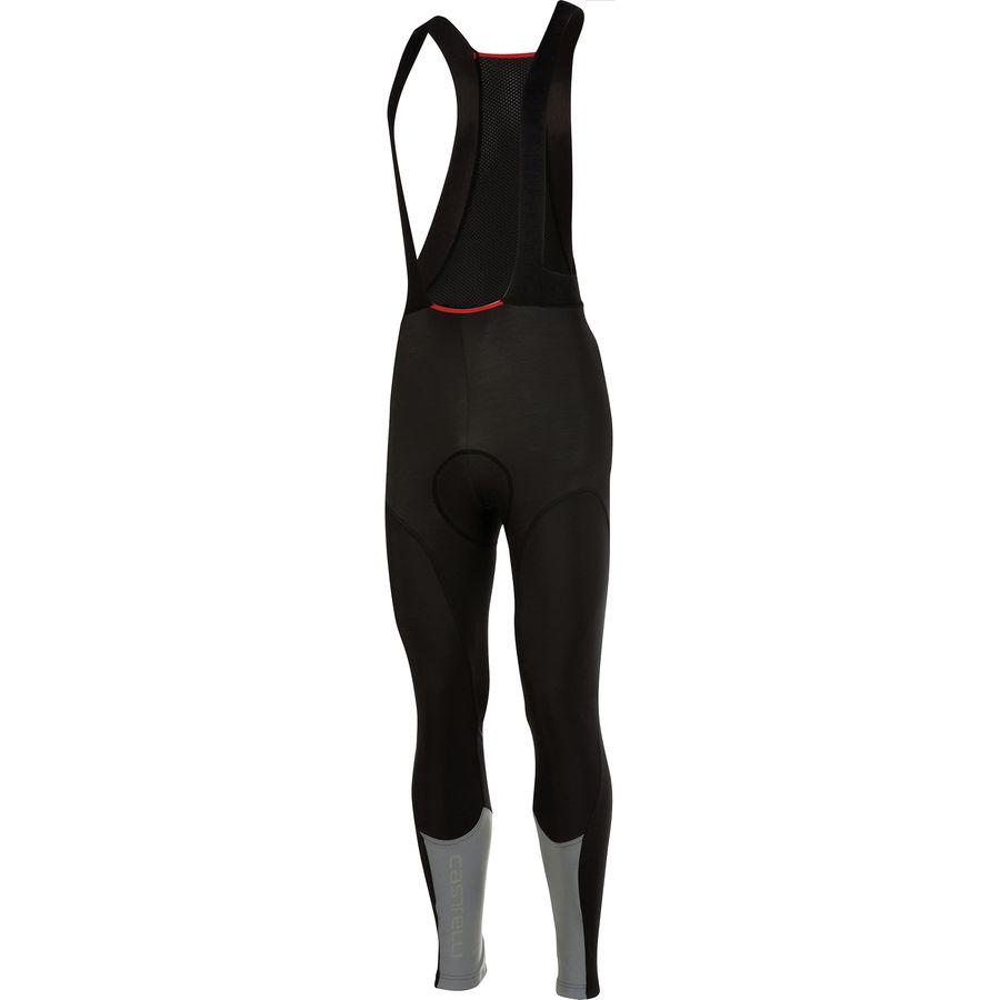 カステリ Castelli メンズ サイクリング ウェア【Nano Flex Pro Bib Tights】Black